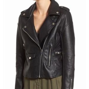 Blank NYC Easy Rider vegan leather jacket